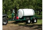 Model ATT-200-WB-D252-3H 200 Gallon - Walking Beam Trailer Sprayer