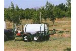 Model ATT-100-WB-H-4H 100 Gallon  - Walking Beam Trailer Sprayer