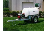 Model PT-200-D30-H-MA 200 Gallon  - Pull Type Trailer Sprayer