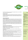Model 4-4-2 - Blend Organic Biotic Fertilizer Brochure
