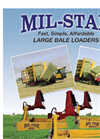 Bale Clamps - Model 1028-s - Large Bale Loader Brochure