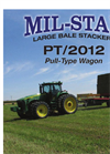 Mil-Stak - Model PT/2012 - Large Square Bales Brochure