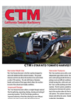 I-STAR - Model NTD - Tomato Harvester- Brochure