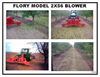 2X56 Front Mount Hydraulic Drive 2 Way Blower Brochure