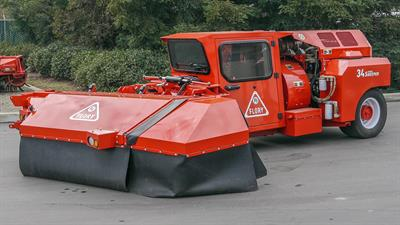 Flory - Model 34 Series - Air-Cab Nut Sweeper