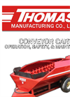 CONVEYOR CART OPERATION, SAFETY, & MAINTENANCE- Brochure