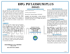 DPG (0-0-42) Potassium Plus Fertilizer Datasheet