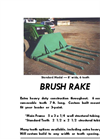 Brush Rake Brochure