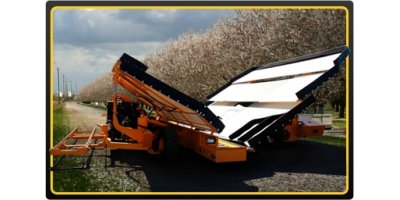 MAGNUM CATCHALL - Model VII SERIES II 90 OR 45 DEGREE - Two Piece Tree Crop Harvester