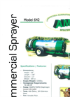 AMC - Model 642 - Commercial Fabricated Sprayers - Brochure