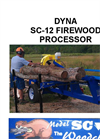 Model SC-12 and 12 XP - Firewood Processor Brochure