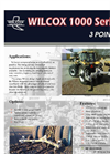 Chisel - Model 1000 Series - 3 Point Ripper Brochure