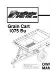 Model 850 & 1075 - Grain Carts Manual