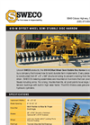 Sweco - Model 610-W - Wheel Semi Stubble Wing Disc Harrow Brochure