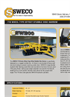 Sweco - Model 710 - Offset Stubble Wheel Disc Harrow Brochure