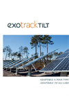 Exotrack - TILT Series - Single-Axis Tracker - Brochure