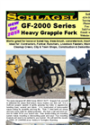 Model GF-2000 - Grapple Fork Brochure