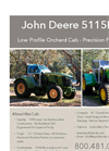 John Deere 5115ML Low Profile Orchard Cab Brochure