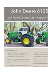 John Deere 6125M Low Profile Orchard Cab Brochure