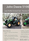 John Deere 5100M Low Profile Orchard Cab Brochure
