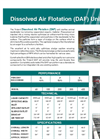 Model DAF - Dissolved Air Flotation Unit Brochure