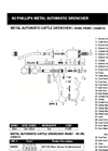 60ml Automatic Cattle Drencher Parts
