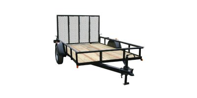Model 616TG - 76 In. x 16 Ft. Utility Trailer, Tandem Axle