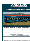 Amadas - Stalk Puller Chopper Brochure