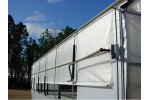 Model E-Z Series - Roll-Up Greenhouse Curtains