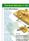 T-104 - Bush Whacker Mowers Brochure