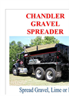 Gravel Spreader Brochure