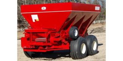 Model 20-PTT-FT - Tandem Axle Pull Type Lime and Fertilizer Spreader