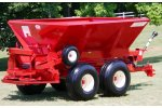 Model 10-PTT-FT - Tandem Axle Pull-Type Fertilizer/Lime Spreader