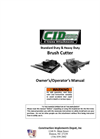 CID - Heavy Duty Skid Steer Brush Cutter Attachment Manual