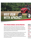 Apache - Model AS730 - Sprayer Datasheet