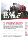 Apache - Model AS1020 - Sprayer - Datasheet