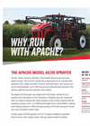 Apache - Model AS720 - Sprayer - Datasheet