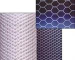 Hexnet of Metallic Woven Wire Cloth