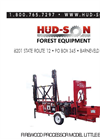 Hud-Son Little Brute Firewood Processor Owner's Manual