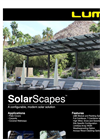 SolarScapes - Modular Pre-Fabricated Solar Canopy Structure Brochure