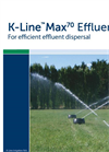 Max 70 Pod Effluent Dispersal Brochure