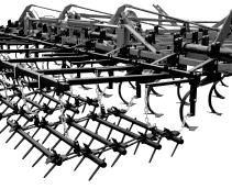 McFarlane - Model STM - Mounted Harrows for Secondary Tillage