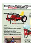 Model 900 - Plastic Mulch Transplanters Datasheet