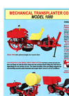 Model 1000 - High Performance Transplanter Datasheet
