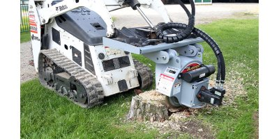 Stump Blaster - Skid Steer Stump Grinder