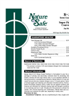Nature Safe - Model 8-3-5 - Stress Guard Fertilizer Brochure