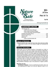 Nature Safe - Model 10-2-8 - All Season Fertilizer Brochure
