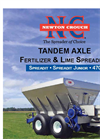 Newton - Model 47 - Spreadit Fertilizer and Lime Spreader Brochure