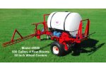 Model 45 - Pull Type Sprayer, Single Axle