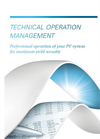 Technical Operation Management Services- Brochure